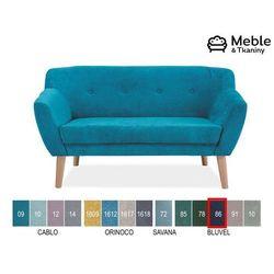 Sofa bergen 2 velvet tapicerka bluvel 86 marki Signal meble