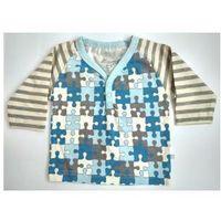 Koszulka Bluzka z długim rękawem Puzzle Paski R 56