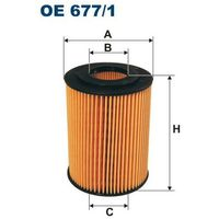Filtr oleju OE 677/1 - produkt z kategorii- Filtry oleju