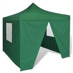 Namiot ogrodowy pawilon 3 x 3 m zielony - produkt dostępny w VidaXL