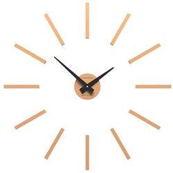 Zegar ścienny Pinturicchio mały CalleaDesign jasnobrzoskwiniowy, kolor różowy