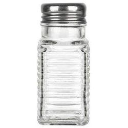 GIARDINO HOME Przyprawnik szklany z metalowym sitkiem