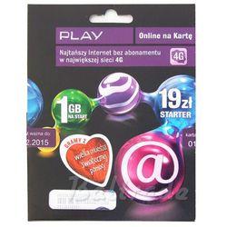 Starter Play Online 19 1GB (doładowanie)