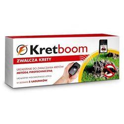 Kret-boom - pirotechniczny eliminator kretów wersja 2018r