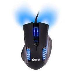 Mysz C-Tech Empusa (GM-17B) Czarna/Niebieska