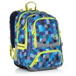 Plecak szkolny Topgal CHI 870 D - Blue - produkt z kategorii- Tornistry i plecaki