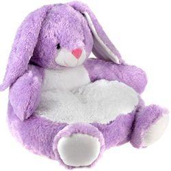 Pluszak - siedzisko pluszowe z oparciem dla dzieci, 8718158361493-królik