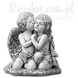 Figura ogrodowa betonowa para całujących sie aniołów 41cm, towar z kategorii: Dekoracje ogrodowe