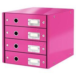 Leitz Pojemnik, szafka Click & Store z 4 szufladami (10K269G) Darmowy odbiór w 20 miastach!