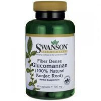 Swanson Glucomannan (Błonnik / Konjac) - 700mg (90 (0087614111636)