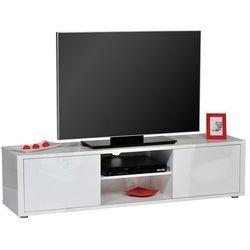 Sciae Stolik pod telewizor urbana, biały, 160x40 cm - 15sh3320