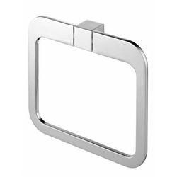wieszak owalny Bisk Futura Silver 02996