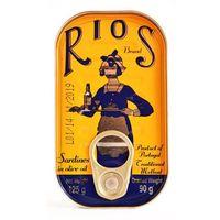 Portugalskie sardynki w oliwie z oliwek RIOS 125g
