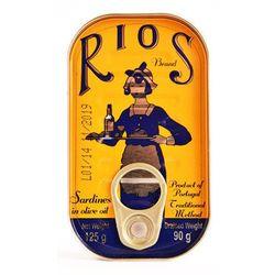 Portugalskie sardynki w oliwie z oliwek RIOS 125g - sprawdź w wybranym sklepie