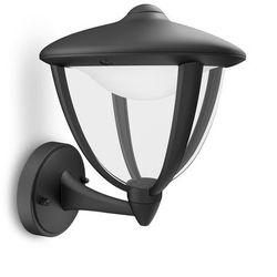 ROBIN - Kinkiet zewnętrzny wznoszący LED Czarny Wys.24cm - produkt dostępny w Lightonline