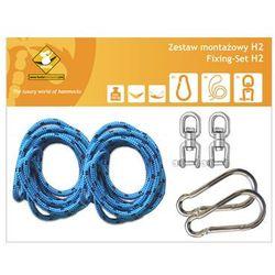 Zestaw montażowy H2 do hamaków, Niebieski koala/zh2 z kategorii Pozostałe poza domem