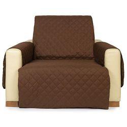 4Home Narzuta na fotel Doubleface brązowa/beżowa, 60 x 220 cm, 60 x 220 cm