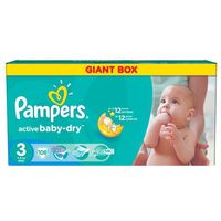 Pampers  active baby giant pack+ midi (4015400737032)