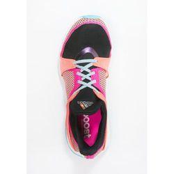 adidas Performance PUREBOOST X TR W Obuwie treningowe core black/shock pink/sun glow
