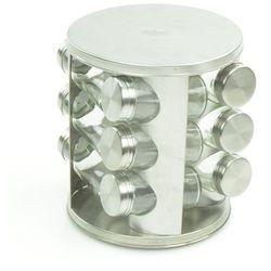 Peterhof Komplet przyprawników ze stojakiem 13 elementów wysoki połysk [ph-12871] (4895170313816)