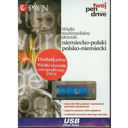 Wielki multimedialny słownik niemiecko - polski, polsko - niemiecki, pozycja wydana w roku: 2013