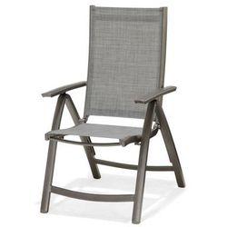 Krzesło składane z podłokietnikami Solana MODERN HOUSE bogata chata