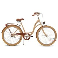 Rower miejski 26 Vanessa retro (kremowe opony)