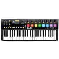 AKAI ADVANCE 49 klawiatura sterująca, towar z kategorii: Klawiatury sterujące, MIDI
