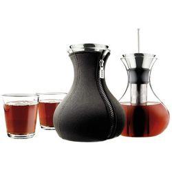 Zaparzacz do herbaty Eva Solo z 2 szklankami 1l czarny