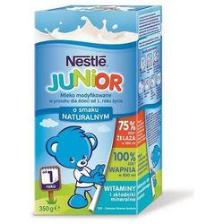 Mleko modyfikowane Nestle Junior 12m+ smak naturalny 350g