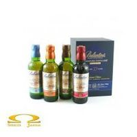 Whisky ballantine's signature destillery 17 yo limited edition 4x0,2l marki George ballantine & son ltd.