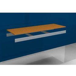 Dodatkowa półka, z trawersami i płytą wiórową, szer. x gł. 1500x500 mm. marki Julius vom hofe