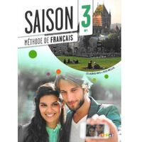 Saison 3 Podręcznik + CD + DVD, Didier