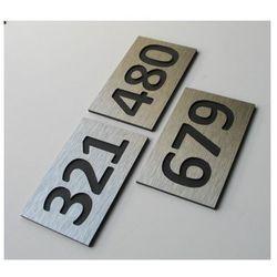 Numer, Numery Grawerowane na Drzwi z aluminium C3 - produkt z kategorii- Akcesoria do drzwi