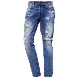 Only & Sons ONSWEFT Jeansy Straight leg medium blue denim