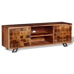 Szafka pod telewizor, lite drewno sheesham, 120 x 30 x 40 cm marki Vidaxl