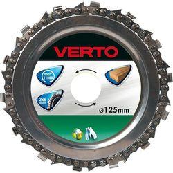 Tarcza do cięcia VERTO 61H197 Łańcuchowa 125 x 22.2 mm od ELECTRO.pl