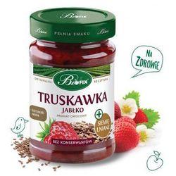 Produkt owocowy z truskawką, jabłkiem i siemieniem lnianym 290g Bifix (5901483082147)