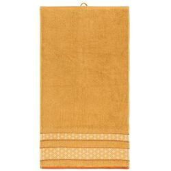 Bade Home Ręcznik Vanesa pomarańczowy, 50 x 90 cm z kategorii Ręczniki