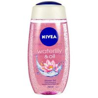 Nivea Waterlily & Oil Shower Gel 250ml W Żel pod prysznic