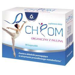 Chrom organiczny +inulina 96 kaps. Oleofarm (artykuł z kategorii Preparaty na poziom cukru)