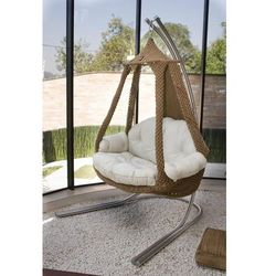 Fotel wellness nido royal, brązowy 1071 marki La siesta
