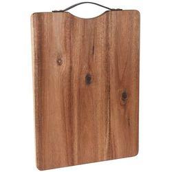 Eh excellent houseware Deska kuchenna do krojenia - prostokątna, drewno akacjowe, 42 x 32 cm