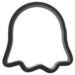 Bio Foremka Duch do ciastek na Halloween - 1 szt (5907509918193)
