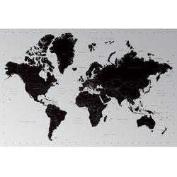 Gf Współczesna mapa świata - podział polityczny - plakat, kategoria: mapy