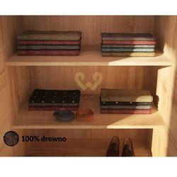 Półka do szafy dębowej modern duża 100cm marki Woodica