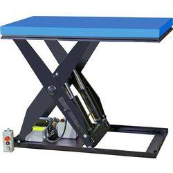 Gesutra Kompaktowy stół podnośny, platforma: dł. x szer. 1300x800 mm, nośność 2000 kg. m