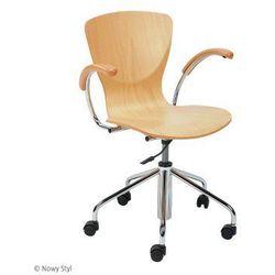 Krzesło bingo wood gtp chrome marki Nowy styl