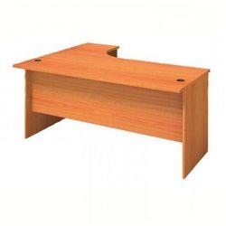 Biurko ergonomiczne prawe, czereśnia