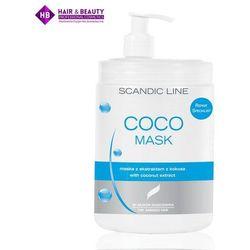 SCANDIC Maska do włosów nawilżająca Cocomask 1000ml